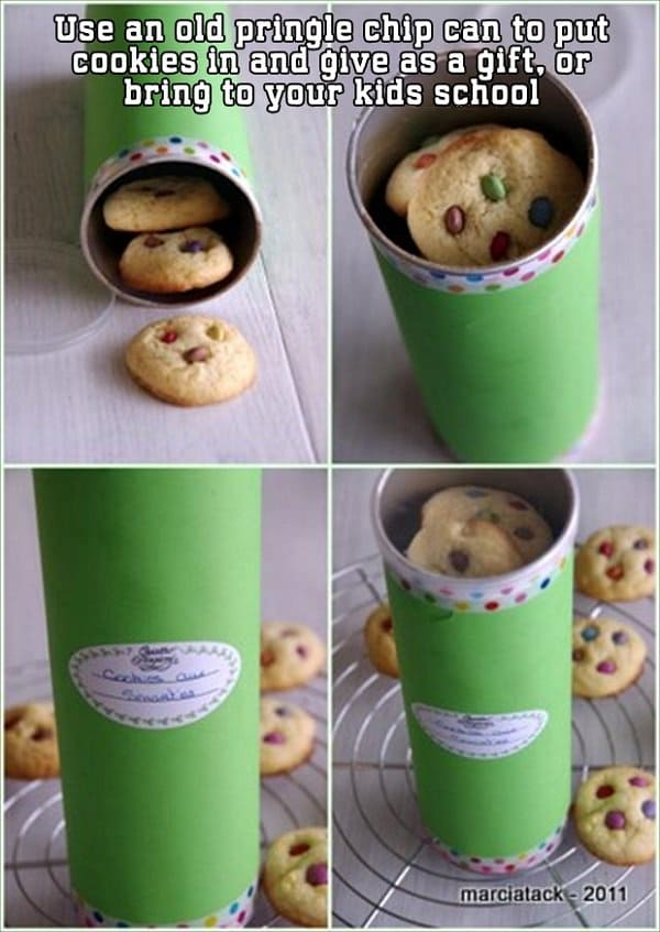 pringles cookie jar