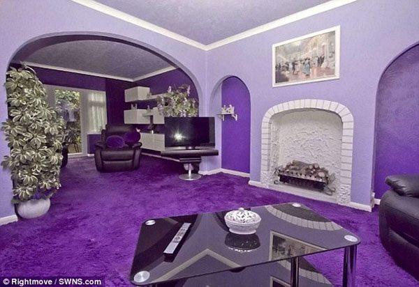purple-house-4 Inside Normal Houses