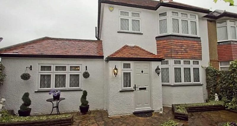 It Looks Like A Normal House For Sale From The Outside