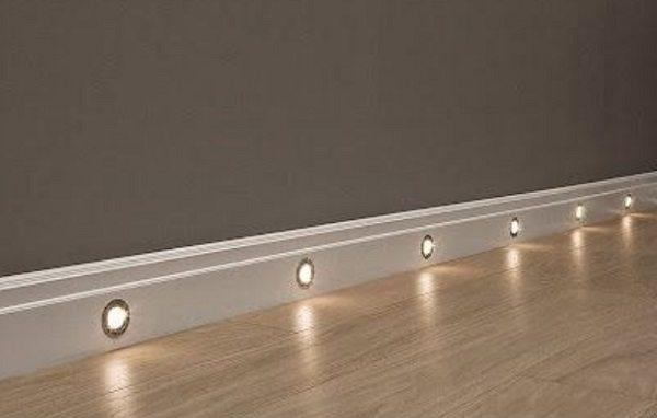 recessed hallway lights