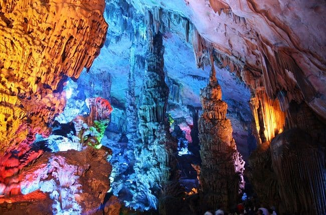 reed flute cave, china colors
