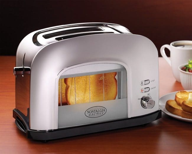 retro window toaster
