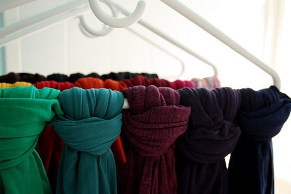 scarves to hangers