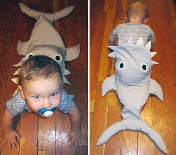 shark-costume