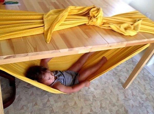 sheet hammock