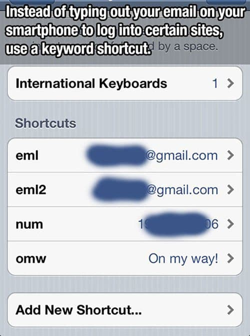 shortcut hack