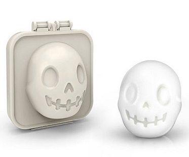 skull shaped boiled egg
