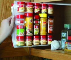 slide-in spice rack