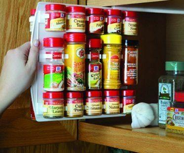 slide-in spice rack