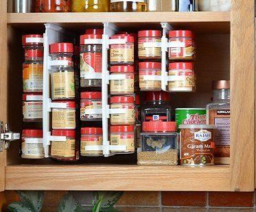 slide-in spice rack cupboard