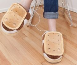 smores heated slippers