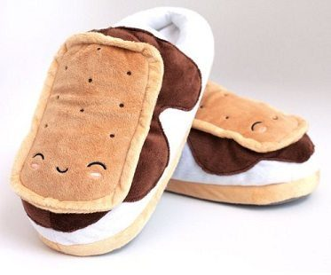 smores heated slippers front
