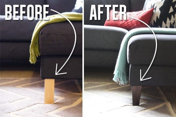 Ikea Godmorgon Cabinet Legs ~ Tips to make your Ikea furniture look expensive