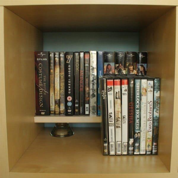 stack dvds