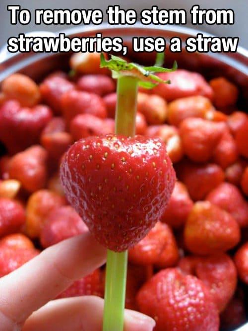 strawberry stem remover
