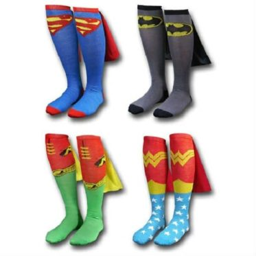 superhero socks