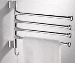 swivel bar towel holder