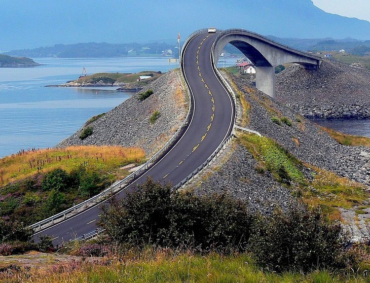the atlantic road hill