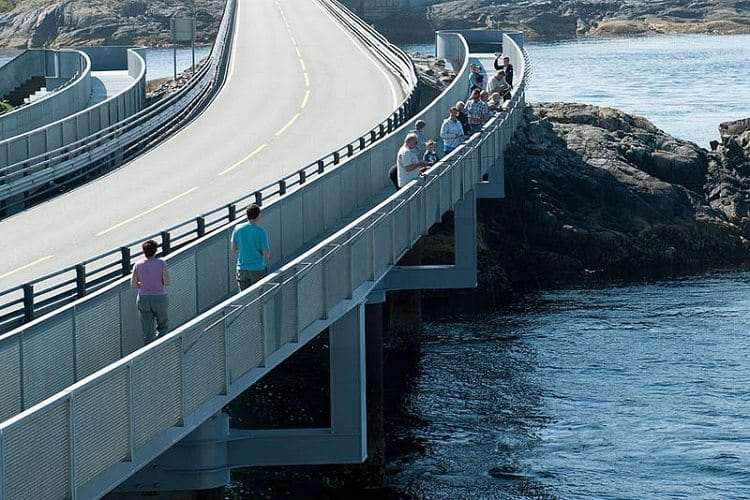 the atlantic road pathway