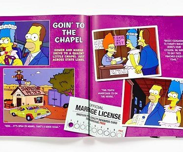 the simpsons family history book chapel page