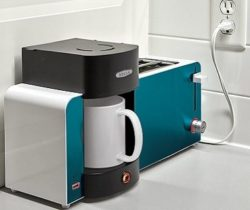 toast and coffee maker