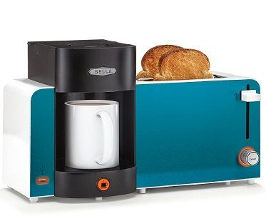 toast and coffee maker station