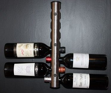 wall mounted wine rack holder