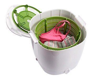 washing machine pod inside