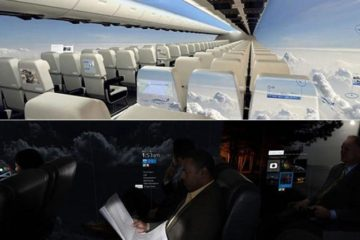 windowless planes