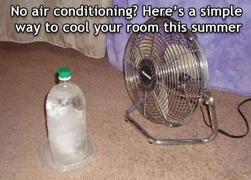 wine bottle air conditioning