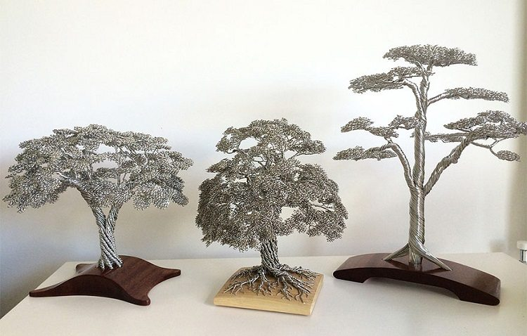 wire tree collection