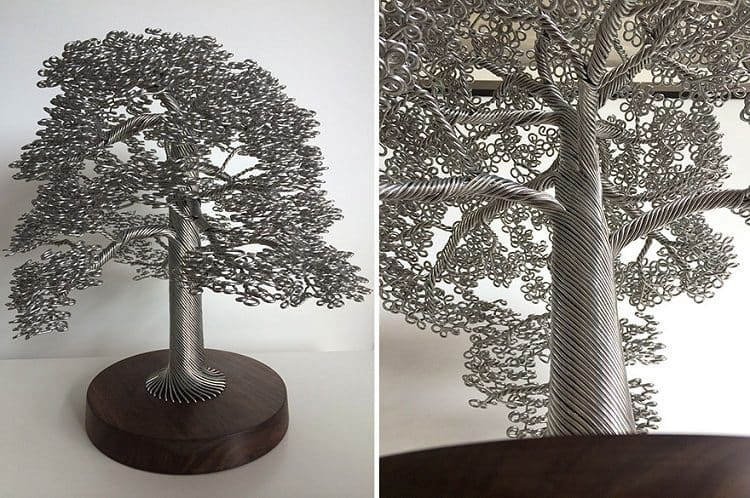 wire tree small