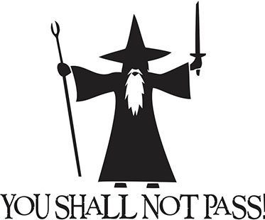 you shall not pass gandalf