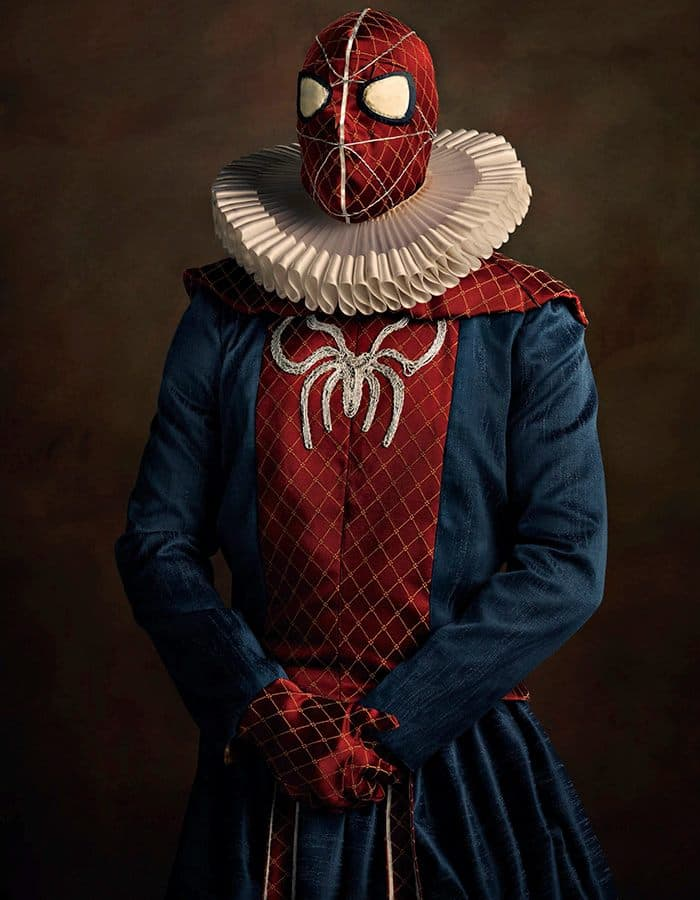 16th-century-super-heroes-spiderman