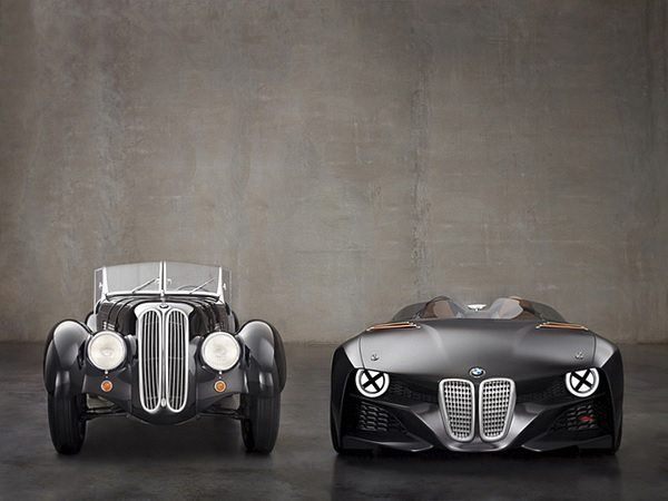 Bmw 328 hommage launch