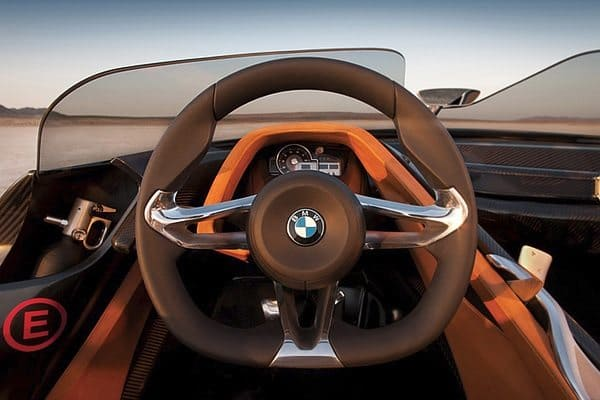 Bmw 328 hommage steering wheel