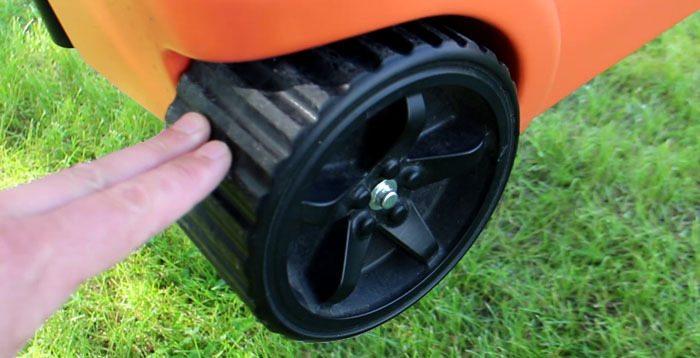 Cooler-wheel