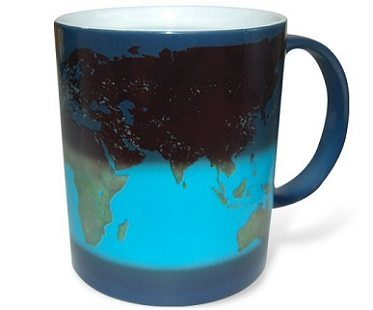 Day And Night Heat Changing Mug coffee