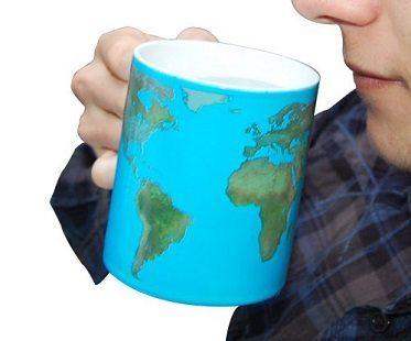 Day And Night Heat Changing Mug world