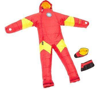 Iron Man Wearable Sleeping Bag boots
