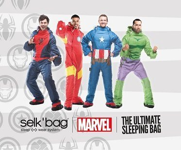 Iron Man Wearable Sleeping Bag superheros