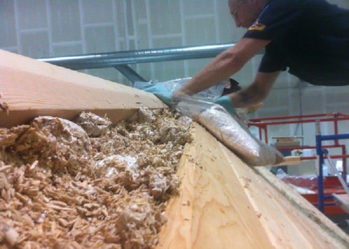 Mushroom Roof Insulation