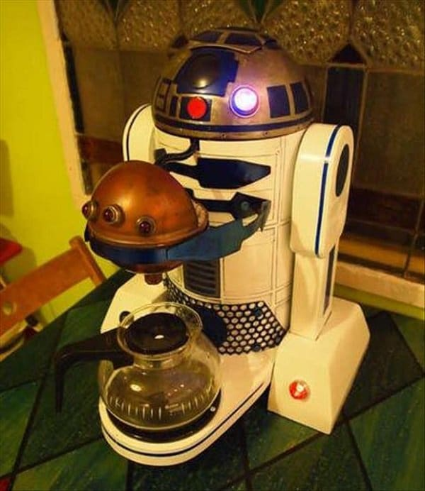 R2-D2 coffee maker