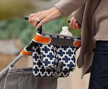 Stroller Storage Bag back