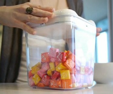 Time Locking Container sweets