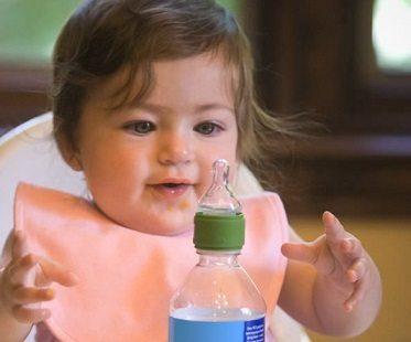 Toddler Water Bottle Cap Adapter