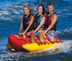 Towable Hot Dog Float 3 person