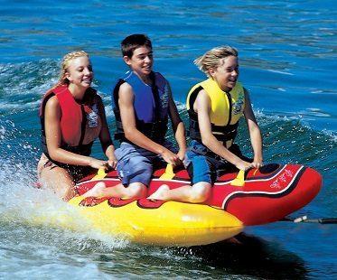 Towable Hot Dog Float