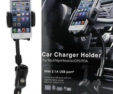 USB Car Charger Cradle box