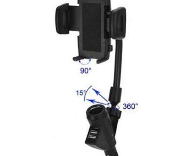 USB Car Charger Cradle holder